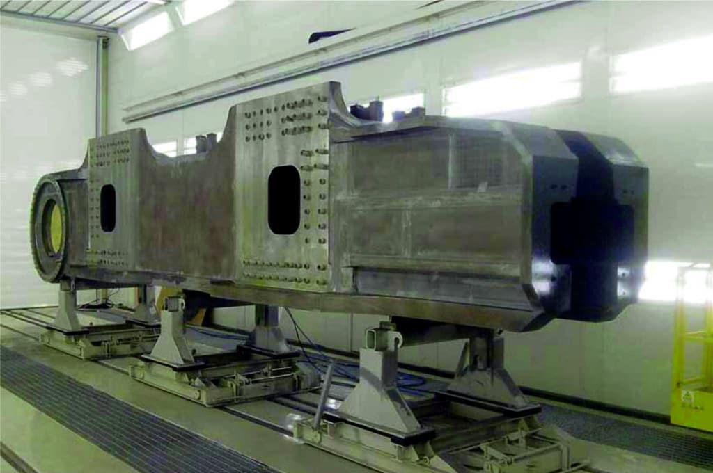 Cabina de Pintura Industrial