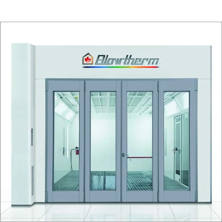 Cabina de pintura Blowtherm World