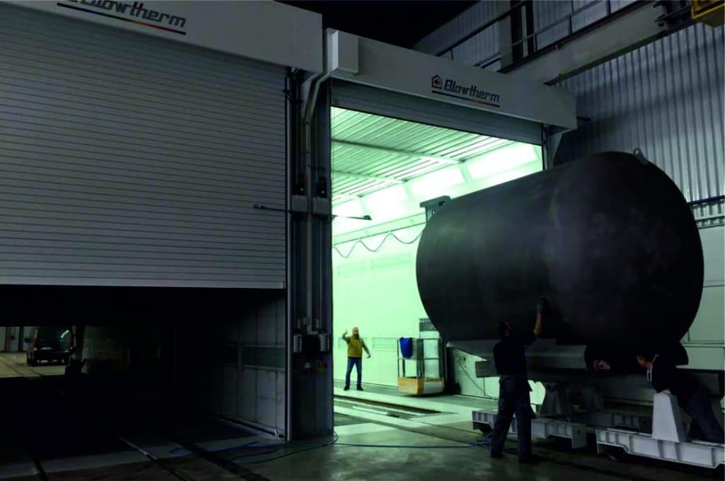 Cabina industrial de pintura Blowtherm