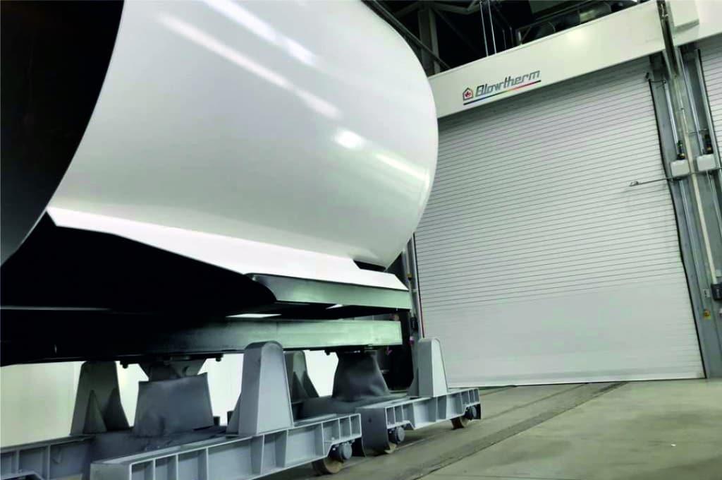 Cabina industrial pintura Blowtherm