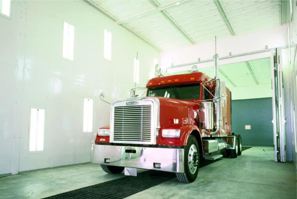 Cabina pintura Blowtherm camiones
