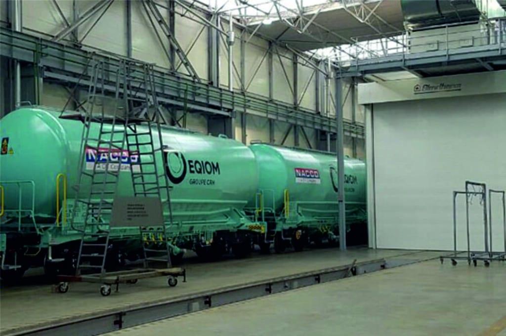Cabina pintura indusrial Blowtherm cisternas tren