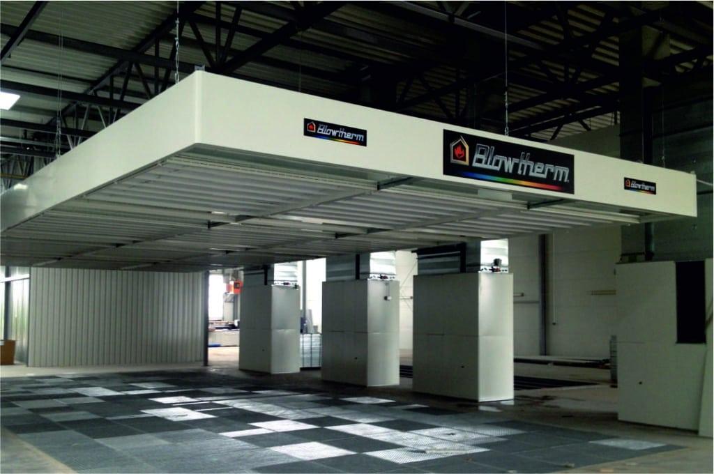 Zona preparación industrial Blowtherm